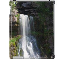 Beautiful Waterfall in the Yorkshire dales iPad Case/Skin