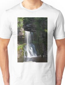 Beautiful Waterfall in the Yorkshire dales Unisex T-Shirt