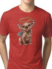 Cataclysm - Elf Kitten (Christmas Edition) Tri-blend T-Shirt