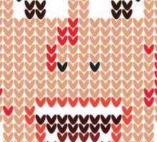 Faux-Knitted Bateman Sticker