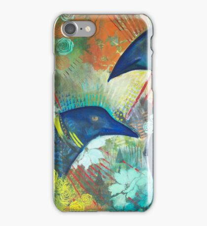 Ravens in the Garden iPhone Case/Skin
