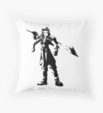Aeris Strife Throw Pillow