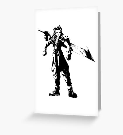 Aeris Strife Greeting Card