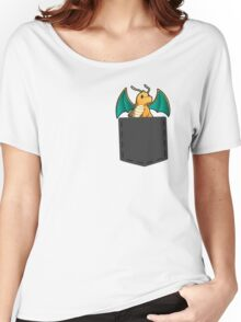 Pokemon - Dragonite in pocket Women's Relaxed Fit T-Shirt