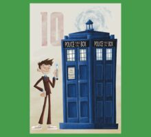 The Tenth Doctor Baby Tee