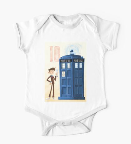 The Tenth Doctor One Piece - Short Sleeve