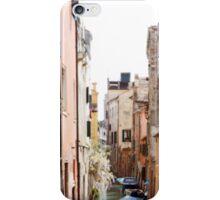 Back Street Venice iPhone Case/Skin