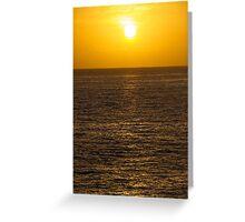 A beautiful sunrise  Greeting Card