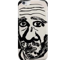 Self-portrait/(3 of 3) -(031014)- Digital artwork: Zen Brush iPhone Case/Skin