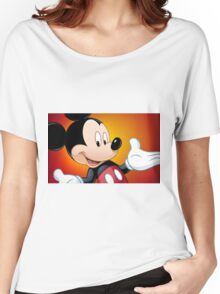 mickey mouse Women's Relaxed Fit T-Shirt