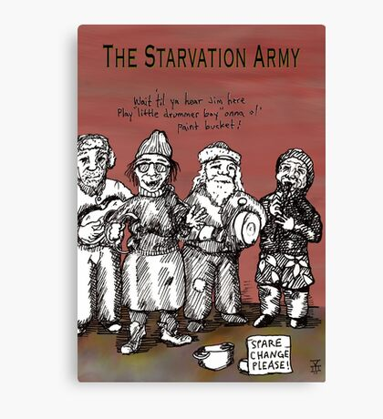 Starvation Army Canvas Print