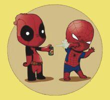 Deadpool & Spider-Man Kids Tee