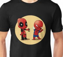 Deadpool & Spider-Man Unisex T-Shirt