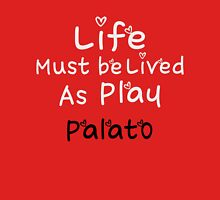 ╚»★Plato Motivational Quote Clothing & Stickers & Cases & Tote Bags & Home Decor & Stationary★«╝ Women's Fitted Scoop T-Shirt