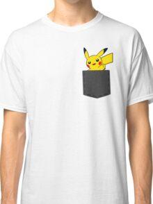 Pokemon - Pikachu in pocket Classic T-Shirt