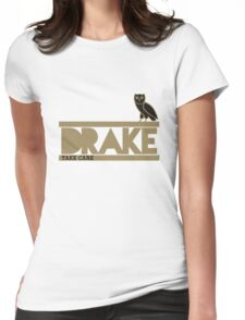 Drake 2 Womens Fitted T-Shirt