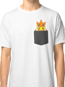 Pokemon - Pikachu with Charizard cosplay in pocket Classic T-Shirt