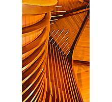 Organ Pipes in St. Paul's church Photographic Print