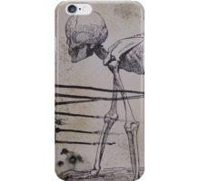 Crawling Skeleton iPhone 5s/5 Snap Case iPhone Case/Skin
