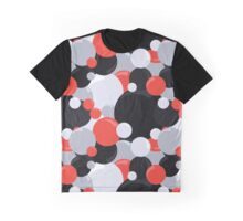 Black and Red Licorice Bubbles Graphic T-Shirt
