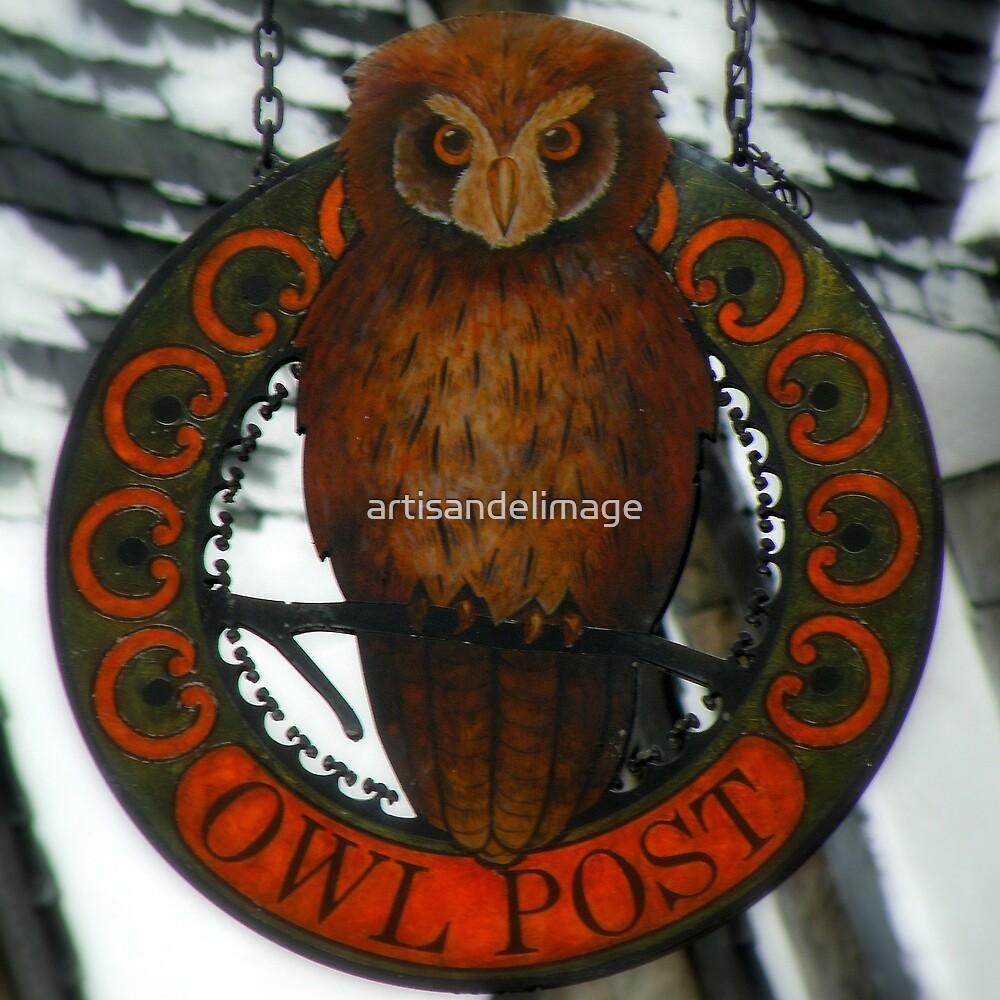 The Owl Post At Hogsmeade by artisandelimage