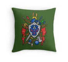 Legend of Items Throw Pillow