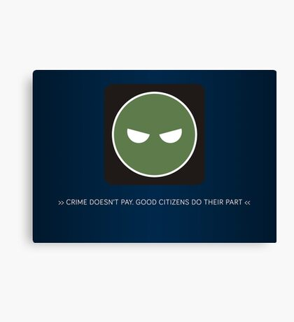 ODST Superintendent Crime Canvas Print