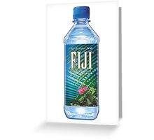 Fiji bottle Greeting Card
