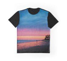 Fraser Island Sunset Graphic T-Shirt