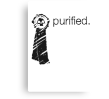 Purity Seal (Light Background) Canvas Print