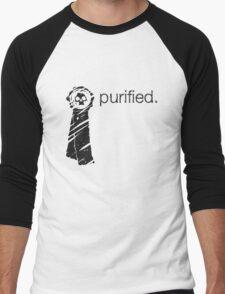 Purity Seal (Light Background) Men's Baseball ¾ T-Shirt