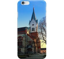 The village church of Aigen III | architectural photography iPhone Case/Skin