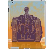 Washington DC vintage poster iPad Case/Skin