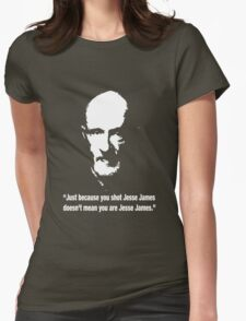 Mike Ehrmantraut breaking bad please change colour to view Womens Fitted T-Shirt