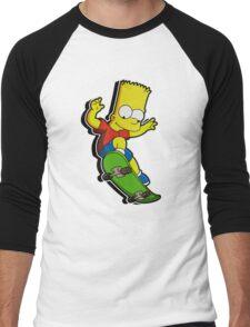 SIMPSON Men's Baseball ¾ T-Shirt