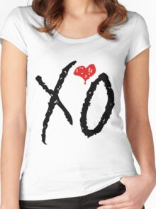 The weeknd 4 Women's Fitted Scoop T-Shirt