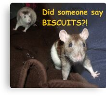 did someone say biscuits? Metal Print