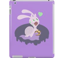 A Goopy Gal With Chocolate on Top iPad Case/Skin