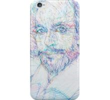 SHAKESPEARE - colored pens portrait iPhone Case/Skin