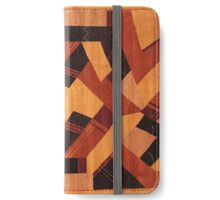 a brown iPhone Wallet/Case/Skin
