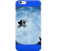 E.Trol. Bike Flying iPhone Case/Skin