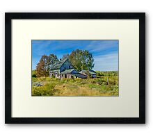 Abandoned House, Wentworth Valley, Nova Scotia Framed Print