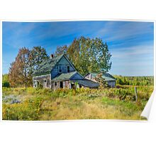 Abandoned House, Wentworth Valley, Nova Scotia Poster