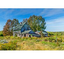 Abandoned House, Wentworth Valley, Nova Scotia Photographic Print