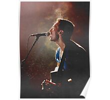Coldplay Chris Martin Poster
