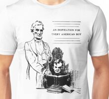 Abraham Lincoln is an inspiration for every American boy Unisex T-Shirt