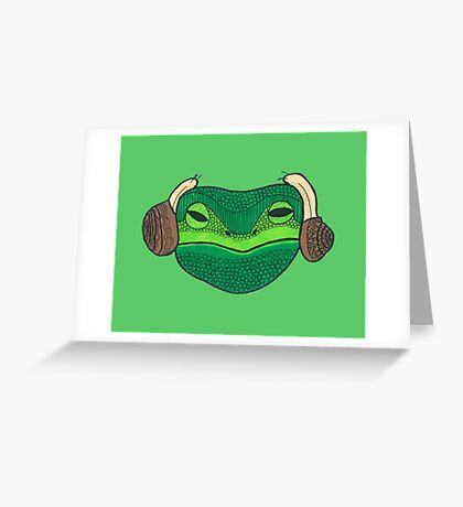 Leia Frog Greeting Card