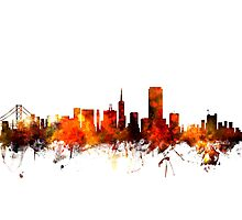 San Francisco City Skyline Photographic Print