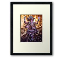 Ganesh - Remover of Obstacles Framed Print