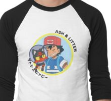 The Cone of Shame - Light Men's Baseball ¾ T-Shirt